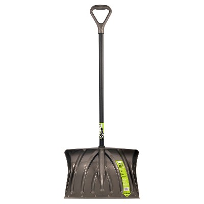 20'' Combo Shovel w/Wear Strip-Gray