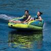 O'Brien Baller Kickback Series 2 Person 2 Way Inflatable Towable Rider Tube - image 3 of 4