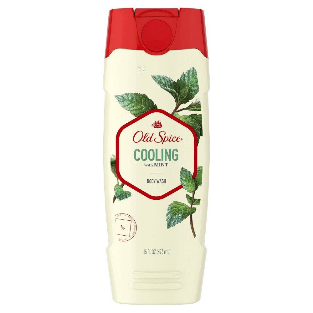 Old Spice Fresher Collection Mint Body Wash - 16oz