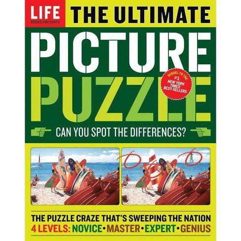 Ultimate Picture Puzzle (Paperback) by Mark Adams - image 1 of 1