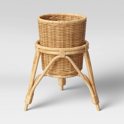 "13"" x 15"" Koboo Rattan Planter Basket - Opalhouse™"