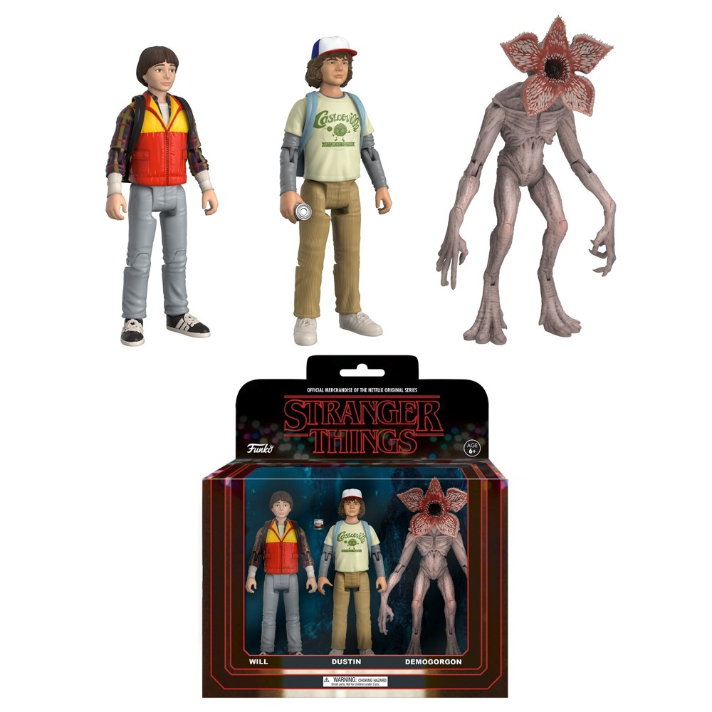 Funko Action Figure: Stranger Things - 3pk Mini Figure - Pack 2 with Chase