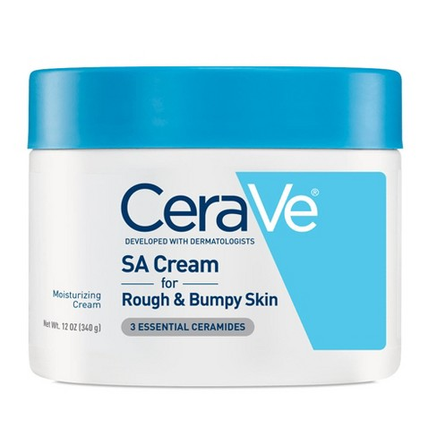 CeraVe SA Cream for Rough and Bumpy Skin, Moisturizer with Salicylic Acid - 12oz - image 1 of 2