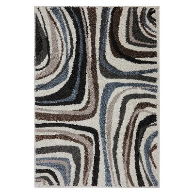 Salem Shag Area Rug Blue - Mohawk