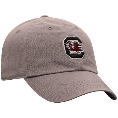 NCAA South Carolina Gamecocks Men's Gray Garment Washed Canvas Hat