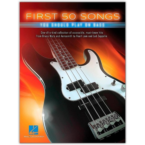 Hal Leonard First 50 Songs You Should Play on Bass - image 1 of 1