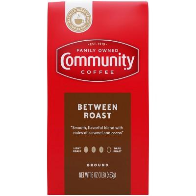Community Coffee Between Roast Medium Roast Ground Coffee - 16oz