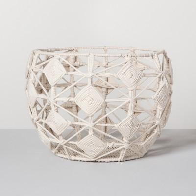 Macrame Basket - Cream - Opalhouse™