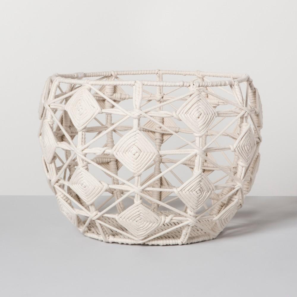 Macrame Basket - Cream (Ivory) - Opalhouse