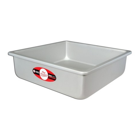 Fat Daddio's PSQ-11113 Anodized Aluminum 11 x 11 x 3 Inch Square Cake Baking Pan - image 1 of 2