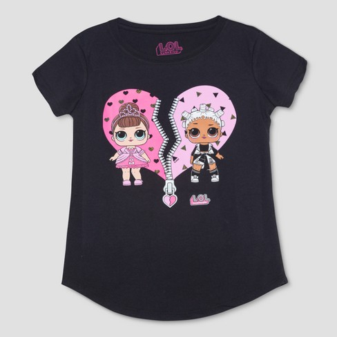 Other Lol Surprise Doll Girls Childrens Star Short Sleeve T-shirt