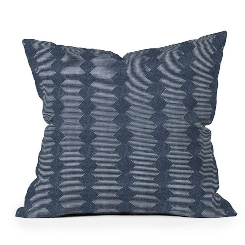 "16""x16"" Little Arrow Design Co Diamond Mud Cloth Square Throw Pillow - Deny Designs - image 1 of 4"
