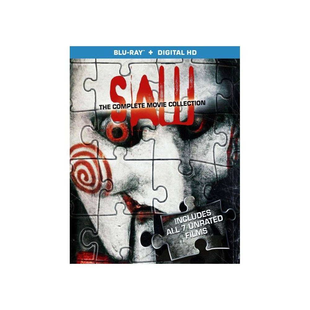 Saw: The Complete Movie Collection (3 Discs) (Blu-ray) Price