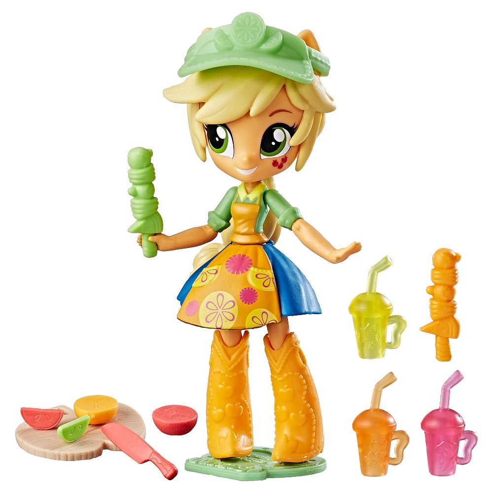 My Little Pony Equestria Girls' Applejack Fruit Smoothies Shop Set