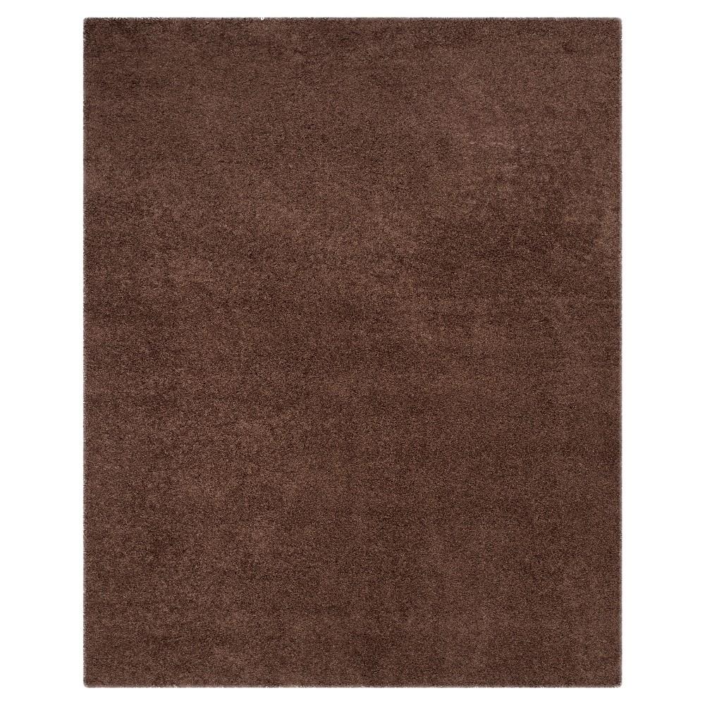 Brown Solid Loomed Area Rug - (8'6x12') - Safavieh