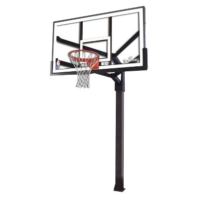"""Spalding NBA 72"""" Arena View Acrylic In Ground Basketball Hoop"""