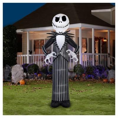 Halloween Giant Disney Jack Skellington Airblown