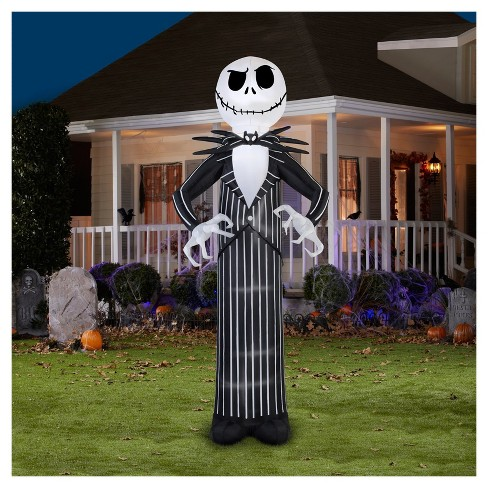 Halloween Giant Disney Jack Skellington Airblown - image 1 of 1
