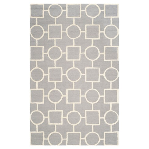 Sumner Area Rug - Silver / Ivory ( 9' X 12' ) - Safavieh® - image 1 of 2