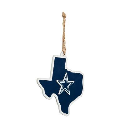 Evergreen Dallas Cowboys, State Ornament