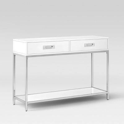 Etonnant Ronchamp Console Table Chrome/White   Project 62™ : Target