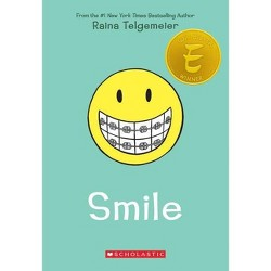 Smile (Paperback) by Raina Telgemeier