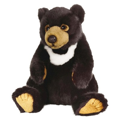 Lelly National Geographic Black Bear Plush Toy