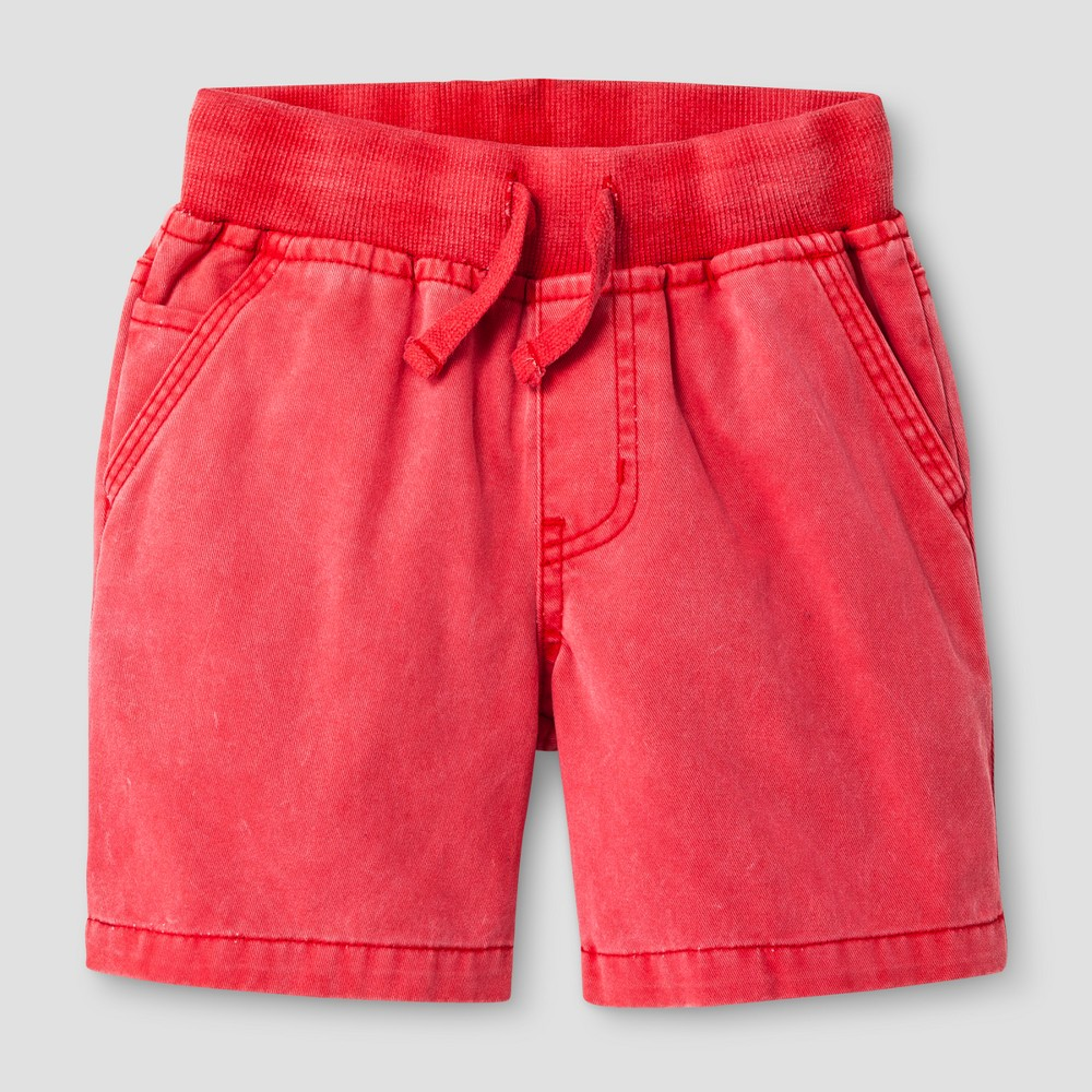 Toddler Boys' Pull-on Shorts - Cat & Jack Red 5T