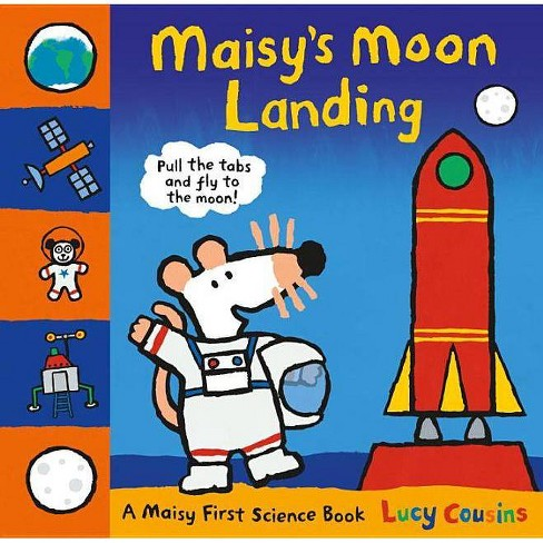 Maisy's Moon Landing - by  Lucy Cousins (Hardcover) - image 1 of 1