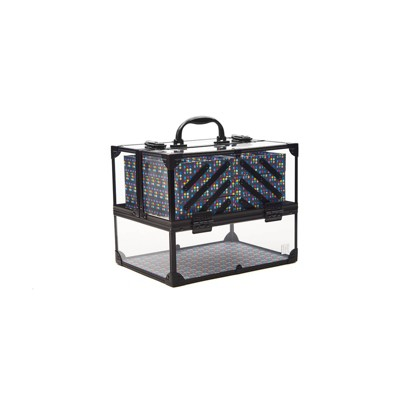 Caboodles Neat Freak Train Case - Black