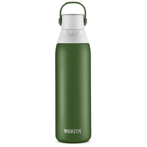 Brita Premium Filtered Water Bottle Stainless - Forest - image 1 of 2