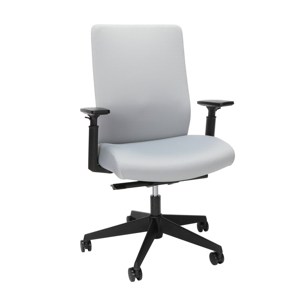 Reviews Basyx Biometryx Commercial Grade Fabric Upholstered Task Chair  - HON