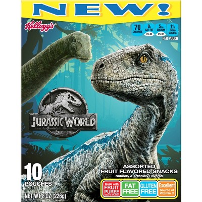 Fruit Snacks: Jurassic World