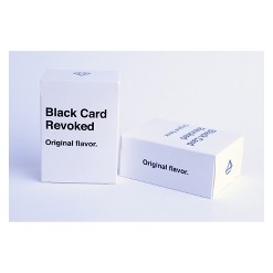 Black Card Revoked Game, card games