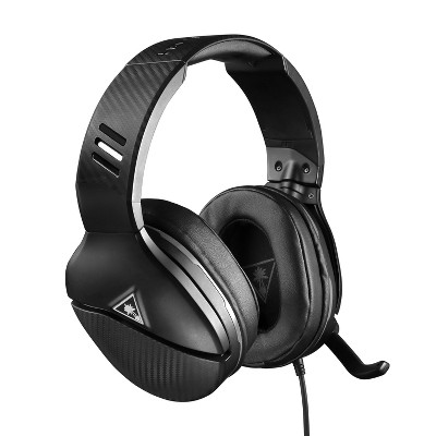 Turtle Beach Recon 200 Amplified Gaming Headset for Xbox One/Series X|S/PlayStation 4/5/Nintendo Switch - Black