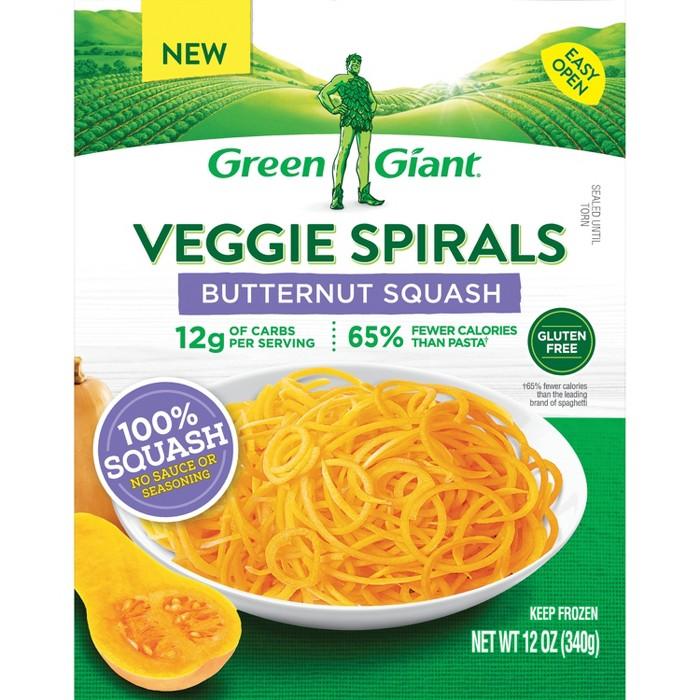 Green Giant Veggie Spirals - Frozen Butternut Squash - 12oz - image 1 of 1