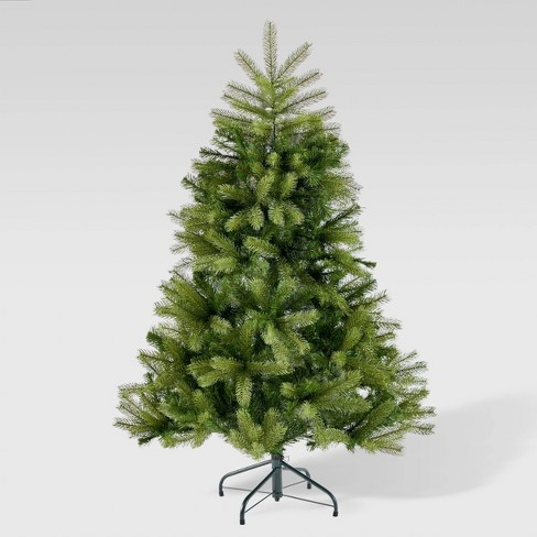 Picture Of A Christmas Tree.4 5ft Mixed Spruce Artificial Christmas Tree Christopher Knight Home