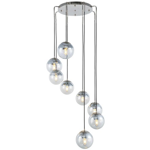 """Elegant Lighting 1142D30 Beckett 8 Light 30"""" Wide Multi Light Pendant From the Urban Classic Collection - image 1 of 1"""