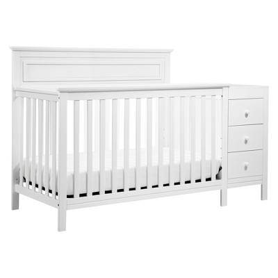 DaVinci Autumn 4-in-1 Crib & Changer Combo - White