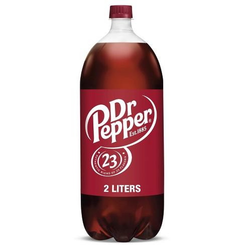 Dr Pepper Soda - 2 L Bottle - image 1 of 4