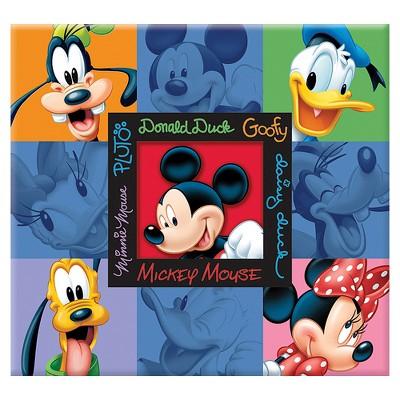 Disney Mickey & Friends Embossed Postbound Album- (12x12 )