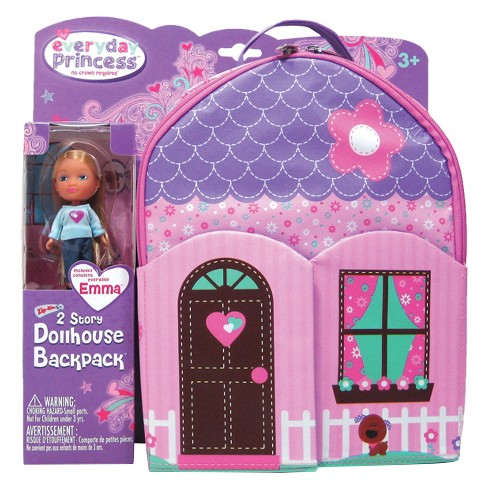 Neat-Oh!® Everyday Princess™ ZipBin® 40 Doll Dollhouse Backpack with 1 Doll - image 1 of 7