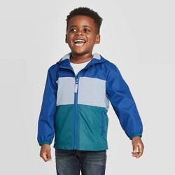 Toddler Boys' Windbreaker Jacket - Cat & Jack™ Blue/Green