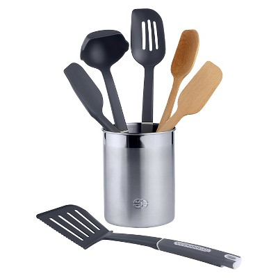 Calphalon 7 Piece Gourmet Mixed Kitchen Utensil Set