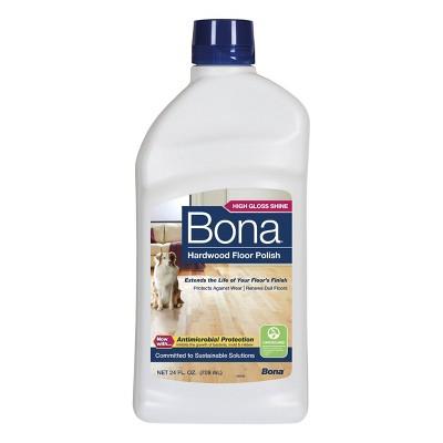 Bona Antimicrobial Hardwood Floor Polish - 24 fl oz