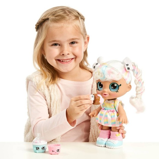 Kindi Kids Snack Time Friends Doll - Marsha Mello image number null