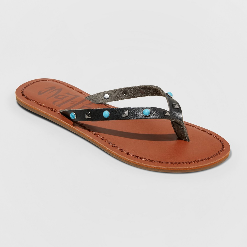 Women's Mad Love Zhenda Flip Flop Sandal - Black 12