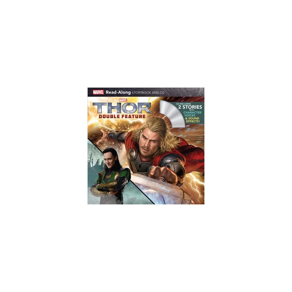 Thor : Double Feature - (Read-Along Storybook and CD) (Paperback)
