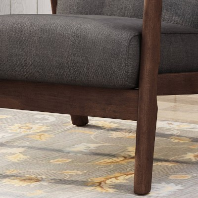 Chabani Mid-Century Modern Accent Chair - Christopher Knight Home : Target