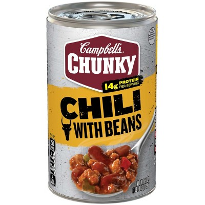 Campbell's Chunky with Bean Roadhouse Chili 19oz